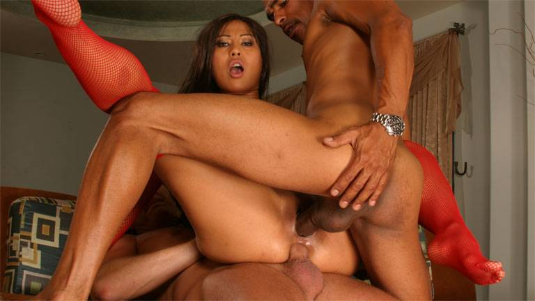 Asian Max Mikita best threesome action ever