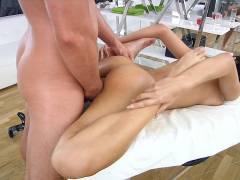 Awesome massage fucking video