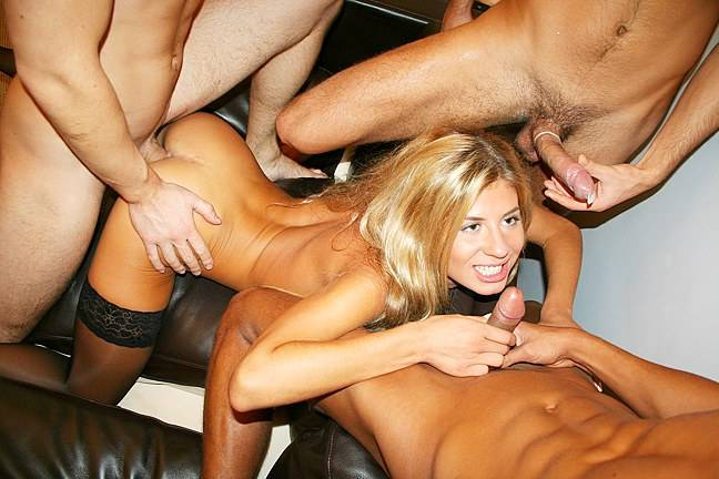 Russian student fucked hard at the party