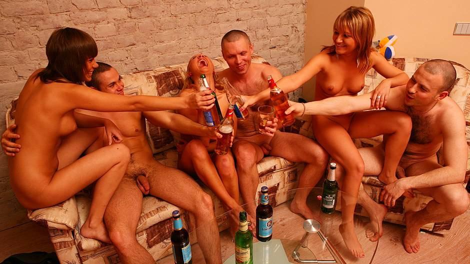 пивное пати порно