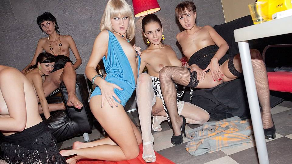 Wild group fuck with hottest chicks