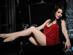 Anastasia Harris – Sexy Red Dress