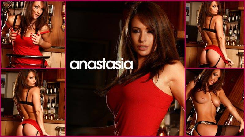 Anastasia Harris – Little Red Dress