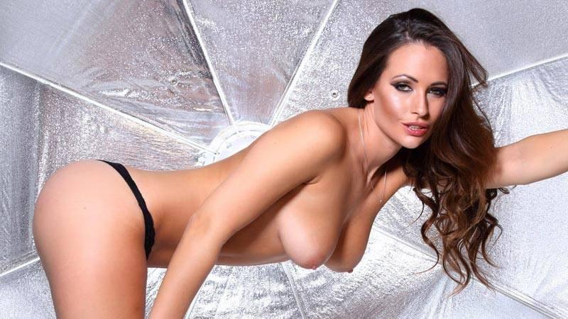 Anastasia Harris – Sexy Black Thong