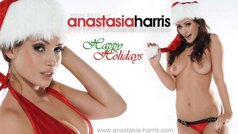 Anastasia Being A Naughty Santa's Helper