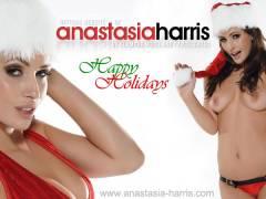 Anastasia Being A Naughty Santa's Helper
