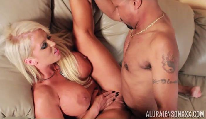 Alura Jenson is Fucked by Diamond Lou Interracial