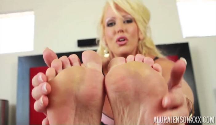 Alura Jenson with a Foot Fetish