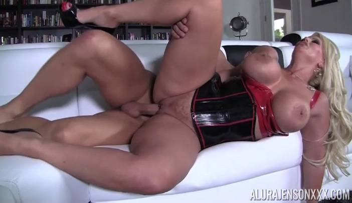Big Tit Alura Jenson gets Fucked by Christian