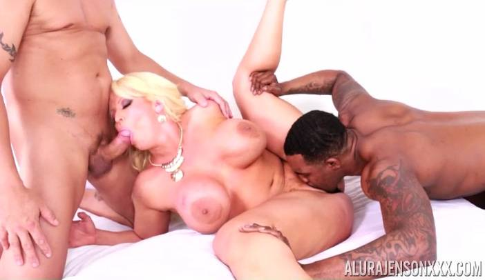 Alura Jenson Interracial threesome with Rome Major and Tommy Utah