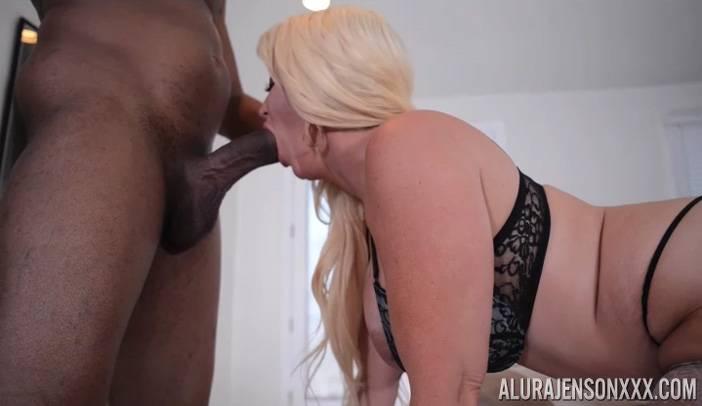 Alura Jenson Rides Jovan Jordan's Big Black Cock