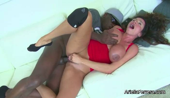 Ariella Ferrera and Danica Dillan Interracial 4 Way Group Sex