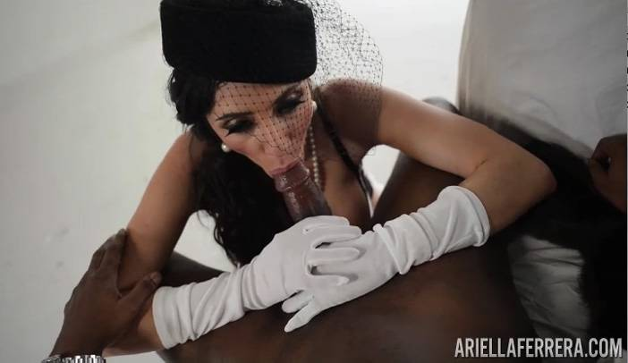 Ariella ferrera and T Real's Black Cock