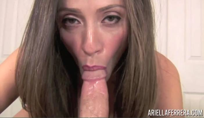 Ariella Ferrera Amazing POV Blow Job