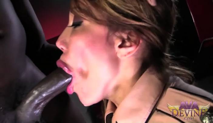 Ava Devine Sucks Rod Pipers Black Dick