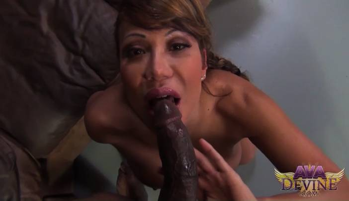 Ava Devine and Porno Dan Interracial POV