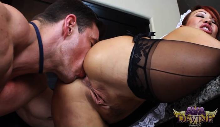 Ava Devine Bends Over and Gets Fucked by Zeb Atlas