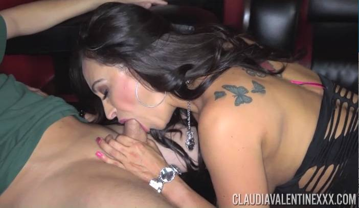 Claudia Valentine Hardcore Lap Dance on Scotty Lyons