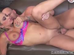 Claudia Valentine fucked hard by Christian