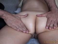 Erica Lauren Gets Butt Massage