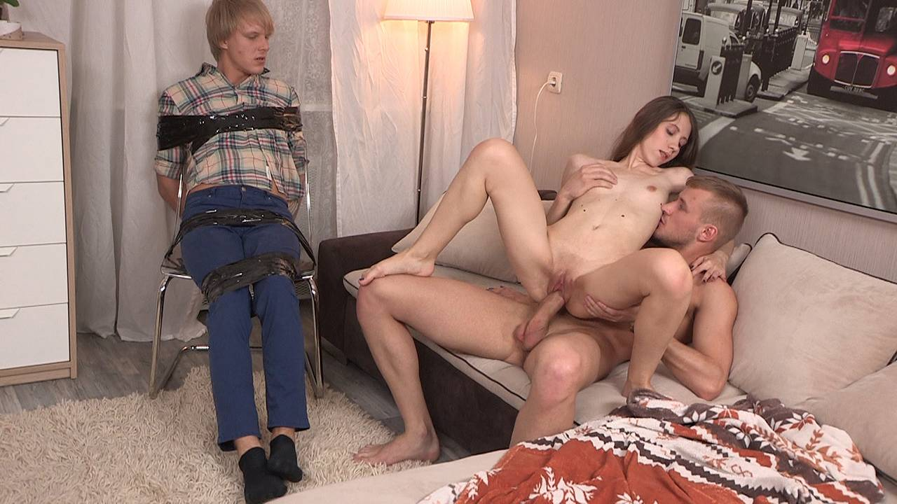 Bitch turns bf into a cuckold