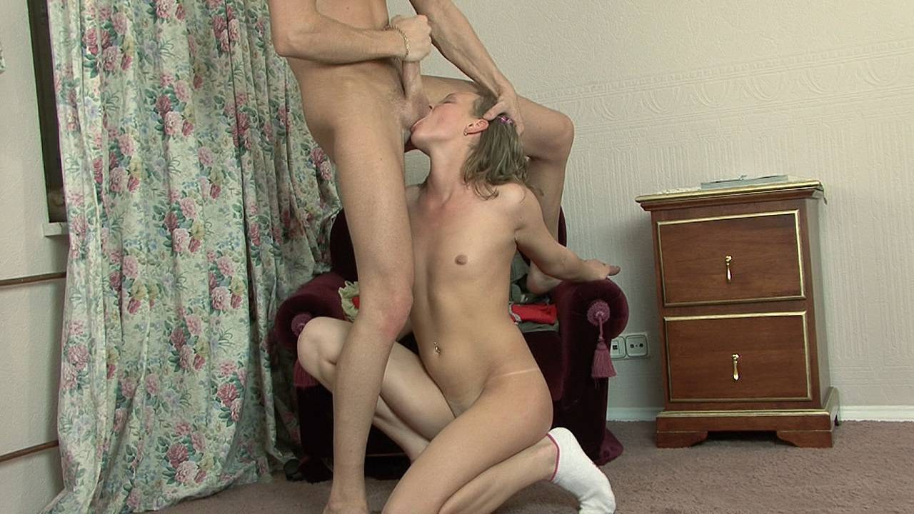 Getting fucked and sucking nuts