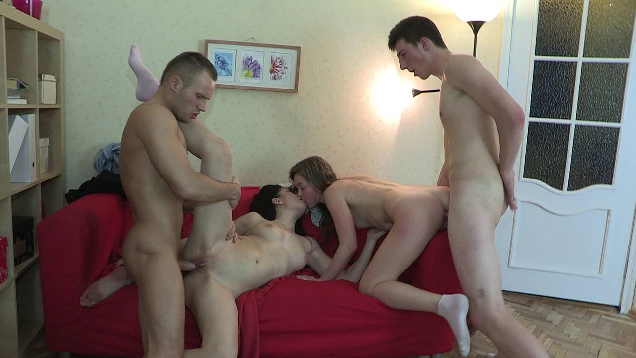 Four-way with ex and his new gf
