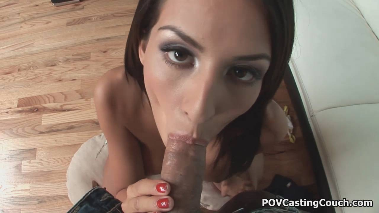 POV Casting Couch With Lexi Diamond Sexy Eyes