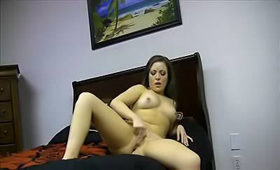 Horny Chick Masturbates