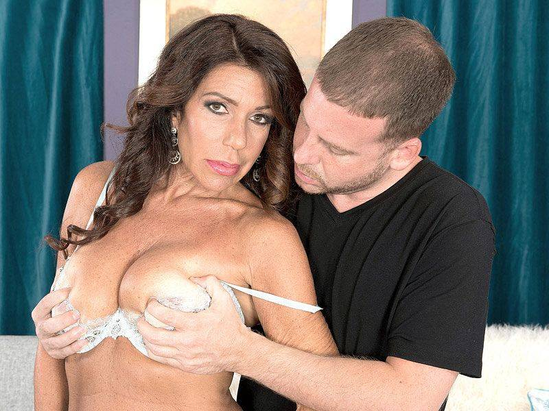 First-Time Fuck For A MILF