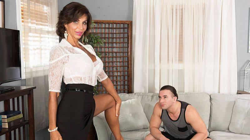 Lyla Lali fucks her boyfriend's son