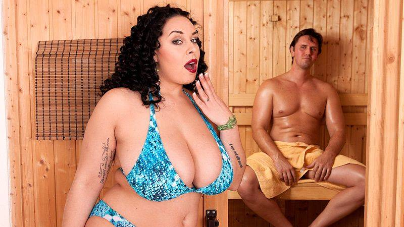 Sauna Sex Party with Anastasia Lux