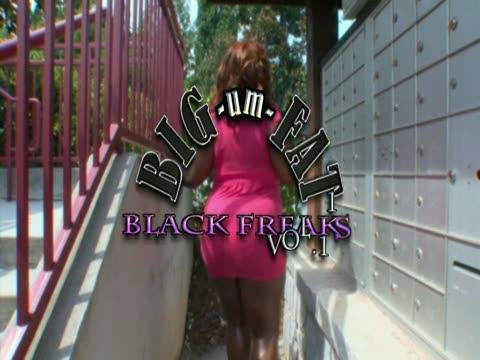 Big Um Fat Black Freaks 11