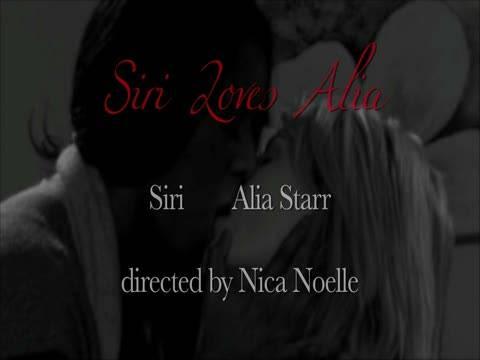 Luscious Lesbians: Siri Loves Ali