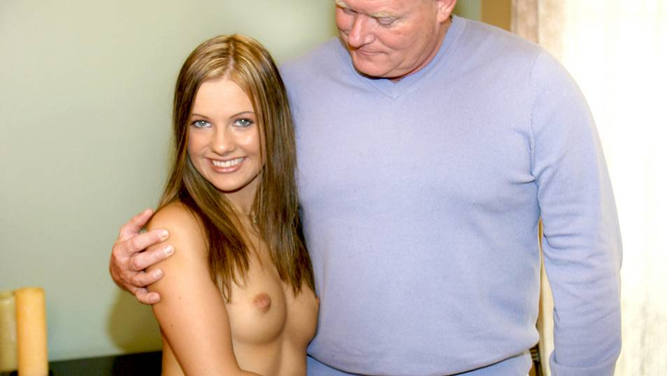 She loves an old pervert's big cock and experience
