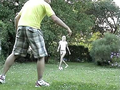 Our oral sex in the garden