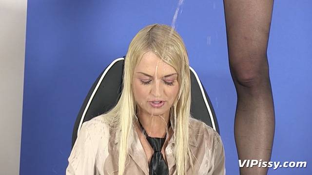 Pee loving lesbians soaked from head to toe