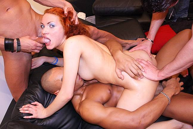 Hardcore sex with hot redhead