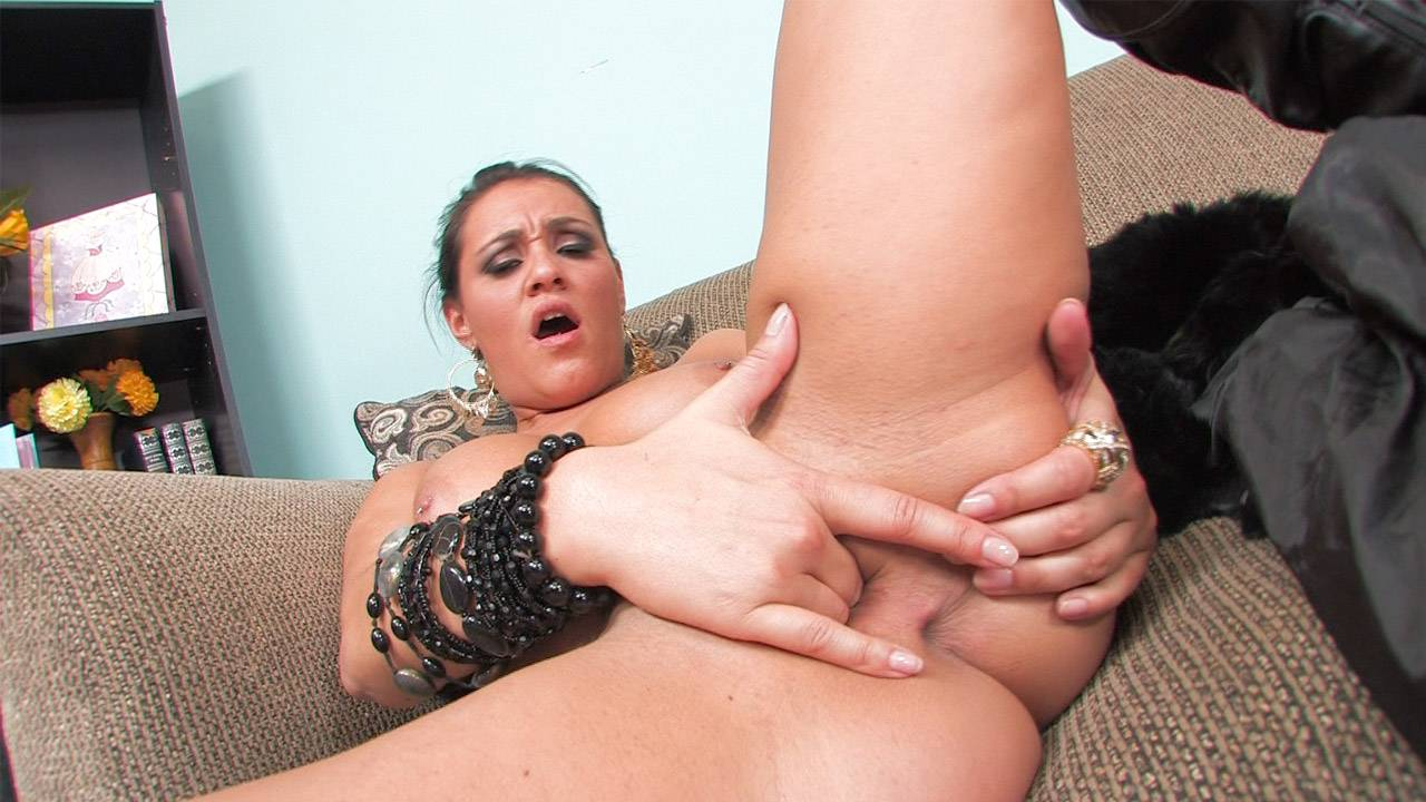 Charley Chase shows off her sexy body