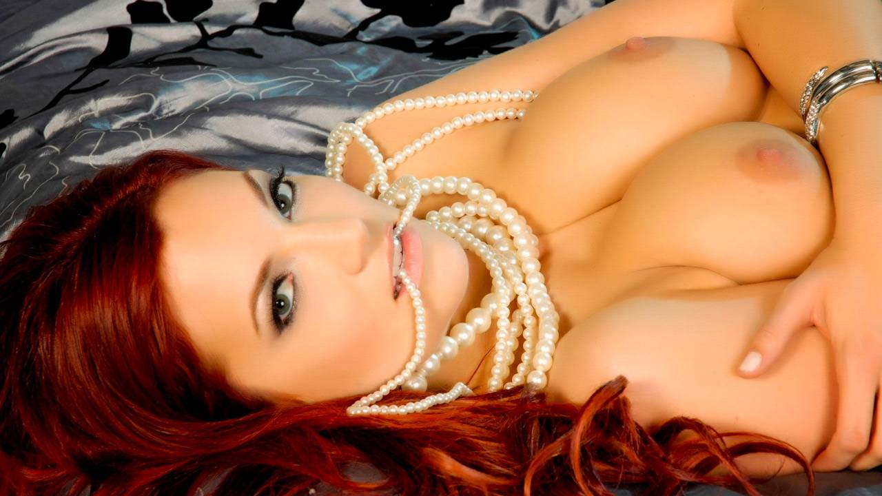 Jayden Cole loves her pearl necklace